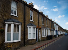 Thraditional British houses Royalty Free Stock Images