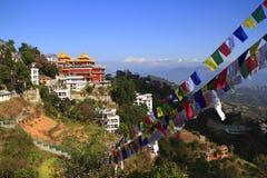 Thrangu Tashi Yangtse Moastery Royalty Free Stock Image
