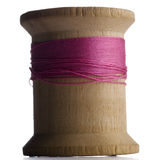Thread. A spool of theread against white background Royalty Free Stock Photo
