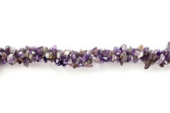 Amethyst bead Stock Images