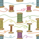 Thread background Royalty Free Stock Image