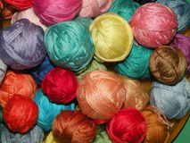 Thread balls Stock Images