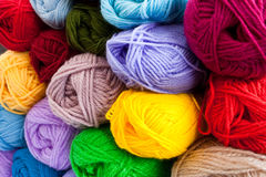 Thread balls Stock Image