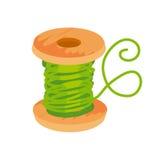 Thread and bobbin icon Royalty Free Stock Photo
