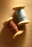 Thread bobbins Royalty Free Stock Photos