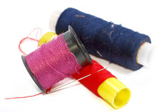 Thread Bobbins Series 01 Stock Photo