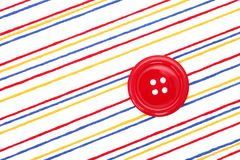 THread and button Royalty Free Stock Photo