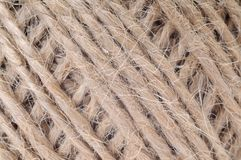 Thread in clew close up picture Royalty Free Stock Images