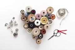 Thread collection Stock Photo