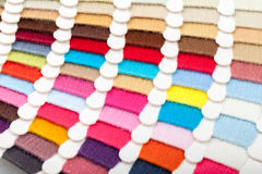 Thread color card Royalty Free Stock Photography