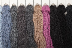 Thread color samples Royalty Free Stock Photos