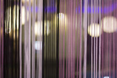 Thread curtain Royalty Free Stock Images