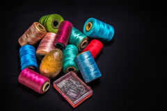 Thread-2 de couture Photographie stock libre de droits