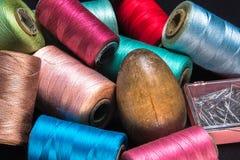 Thread-1 di cucito Fotografie Stock