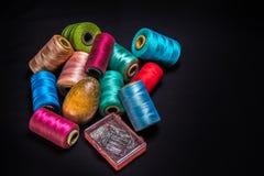 Thread-2 di cucito Fotografia Stock Libera da Diritti