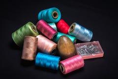 Thread-5 di cucito Fotografie Stock