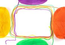 Thread frame. Stock Photography