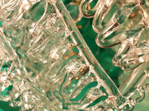 Thread glass background Stock Image