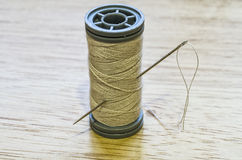 Thread and needle Stock Image