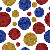 Thread pattern Royalty Free Stock Images