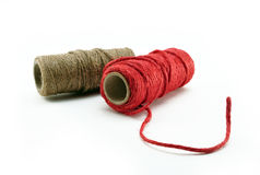 Thread reel Stock Image