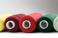 Thread reels Stock Images