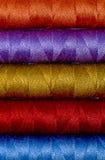 Thread reels Stock Image