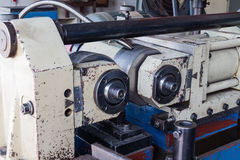 Thread rolling machine Royalty Free Stock Images