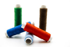 Thread rolls Stock Image