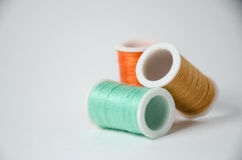 Thread rolls Royalty Free Stock Photos