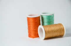 Thread rolls Royalty Free Stock Image