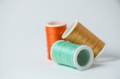 Thread rolls Stock Photography