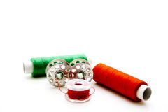 Thread rolls with coils Stock Image