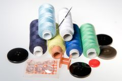 Thread sewing Stock Photography