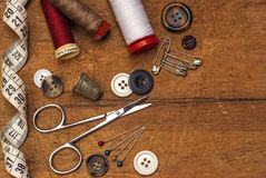 Thread and sewing Royalty Free Stock Photography