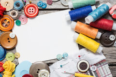 Thread and sewing Stock Images