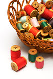 Thread Spool And Bobbin Royalty Free Stock Image