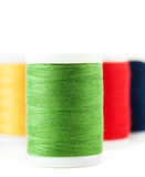 Thread spools Stock Images