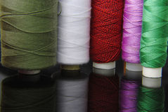 Thread spools Royalty Free Stock Photography