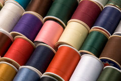 Thread spools Stock Photography