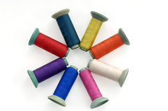 Thread spools Royalty Free Stock Photo