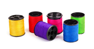 Thread spools Stock Photography