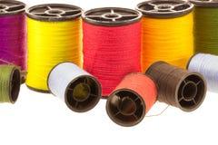 Thread spools Stock Photo