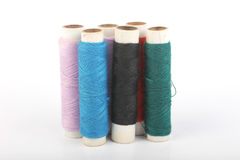 Thread and Tailoring material Royalty Free Stock Image