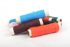 Thread and Tailoring material Stock Image