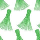 Thread tassel pattern Stock Photo