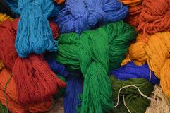 Thread, Textile, Woolen, Wool stock image