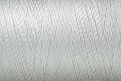 Thread texture white color macro background. Macro picture of thread texture white color surface background royalty free illustration