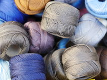Thread twine wool Royalty Free Stock Photos