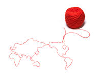 Thread world Stock Photo
